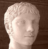 Elagabalus bust at the Capitoline Museum, Rome.  Photo by Giovanni Dall'Orto.
