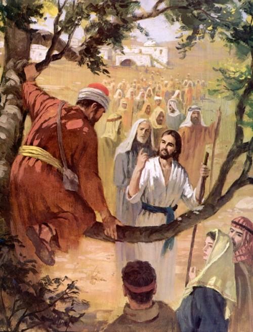Evangelio 16 de Noviembre del 2010 JesusZaqueoB