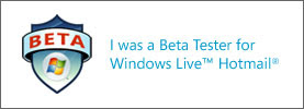 Beta Tester for Windows Live Hotmail