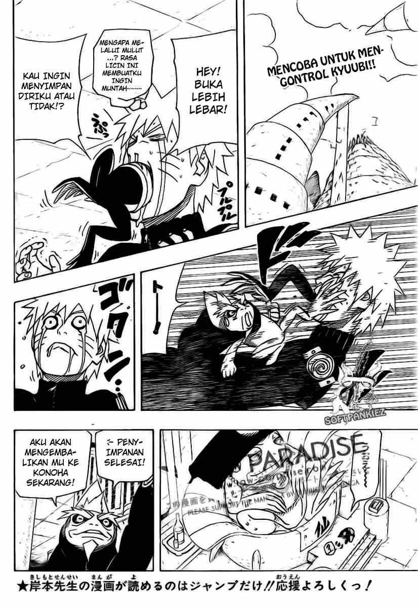 naruto 491 02 Naruto 491   Jinchuuriki Terkurung