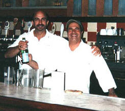 John Arena and Sam Facchini co-owners of Metro Pizza from pizzatherapy.com