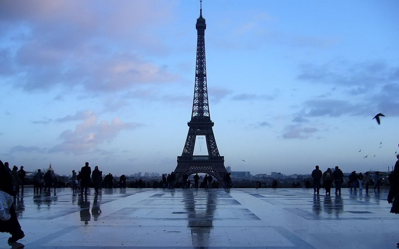 Eiffel Tower Paris France Hd Wallpaper