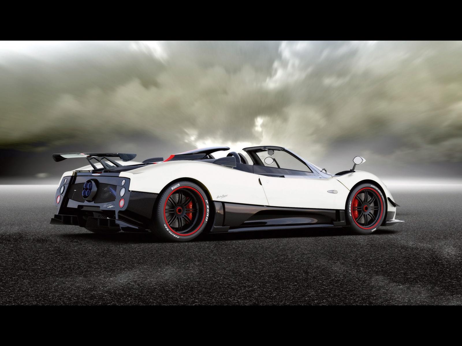 Pagani Zonda Cinque Roadster Hd Wallpaper