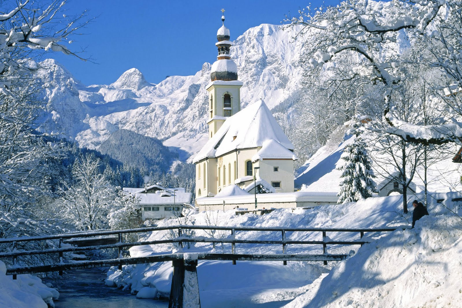scenic winter beautiful wallpapers - photo #36