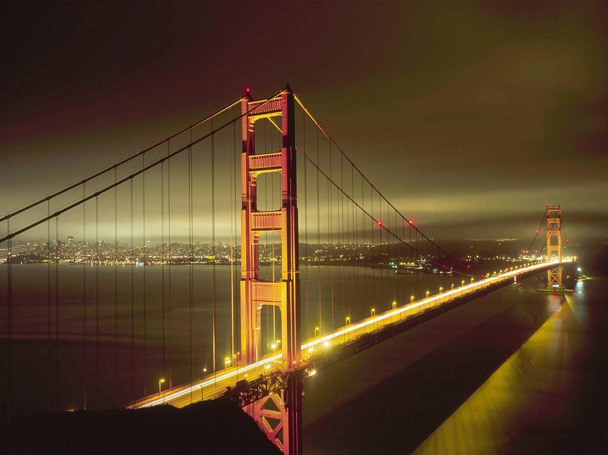 The Bridge Golden_gate_bridge_at_night