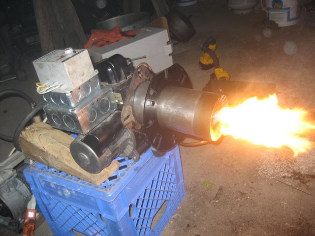 Veg gear diy wvo conversions and green energy building a for Heater that burns used motor oil