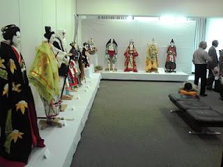 「第5回現代の木偶展」会場