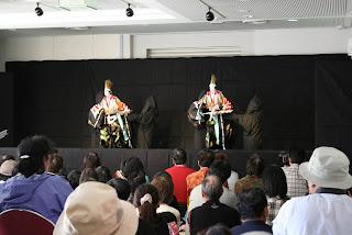 太夫・三味線:松茂浄瑠璃クラブ/人形:ふれあい座「寿式三番叟」