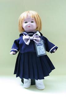 「青い目の人形」アリス・ジョンストンちゃん