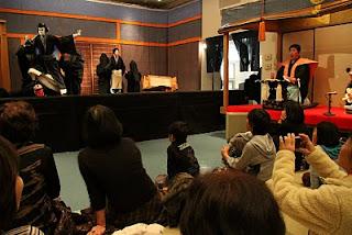 まつしげ人形劇フェスティバル2010「十郎兵衛住家の段」(撮影:三原弘枝さん)