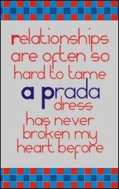 A Prada dress