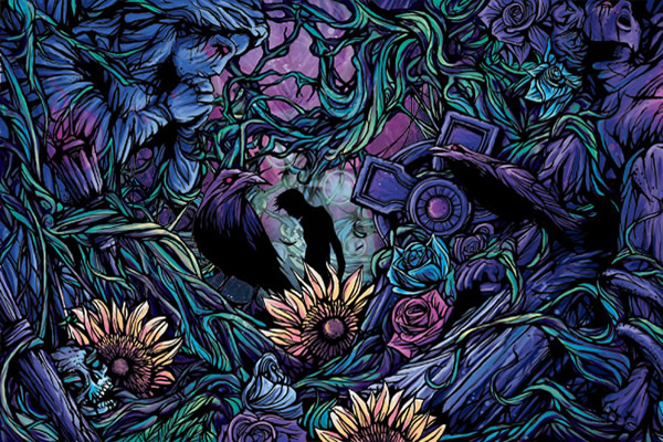 """Another wallpaper i made with Parkway Drive's """"Deep Blue"""" album artwork."""