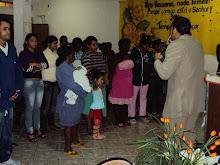 PREGANDO NA IGREJA TEMPLO MISSIONARIO
