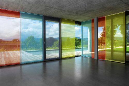 Marzua cortinas para crear efectos de colores por - Cerramientos de metacrilato ...