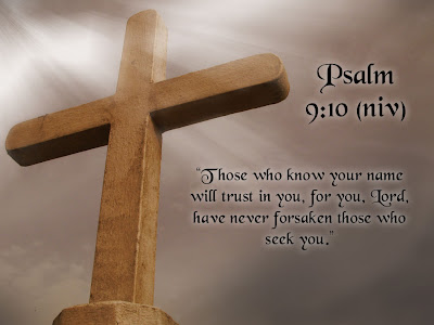 Bible Verse Wallpaper Psalm 9:10
