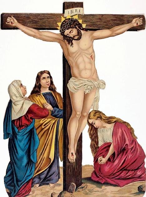 Free Christian Wallpapers: Great God Jesus Christ Cross