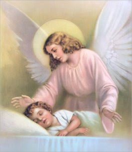 Angel Blessing at Bedtime