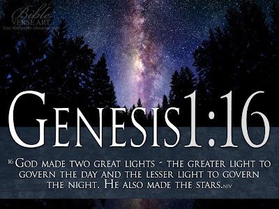 Genesis 1:16 Bible Verse