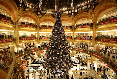 Christmas Paris Tree