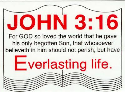 John 3 16 Verse