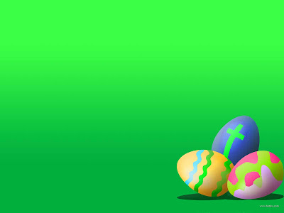 Easter Eggs PowerPoint Background