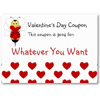 romantic valentine coupons