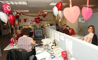 valentines day celebrations in office