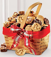Valentine's Day Cookie Gift Basket