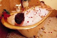 romantic Bubble bath ideas