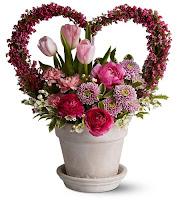Valentines Day Fresh Flower Bouquet