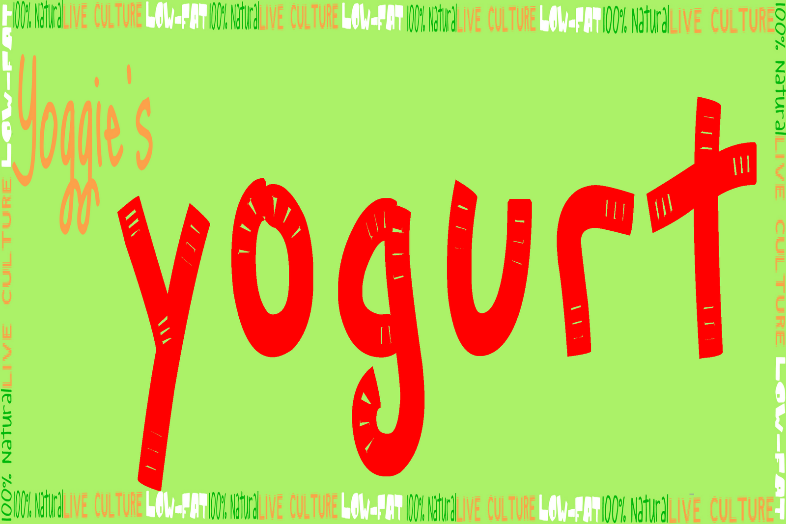 Yoggie's Yogurt by Jane