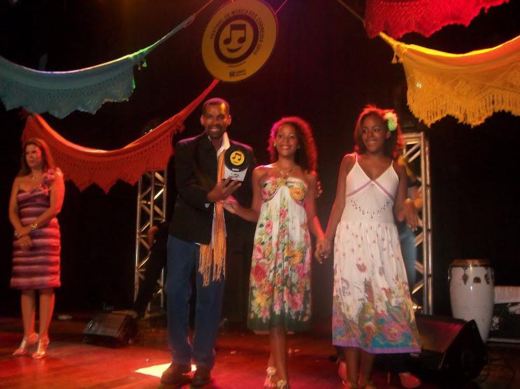2º no Festival de Música dos Correios na fase Estadual.