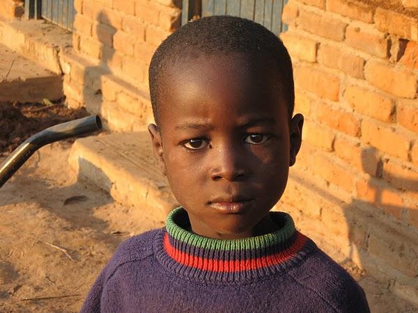 Boy in Africa