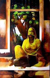 डॉ.ला रत्नाकर की पेंटिंग