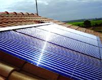 solaire thermique chauffe-eau capteur