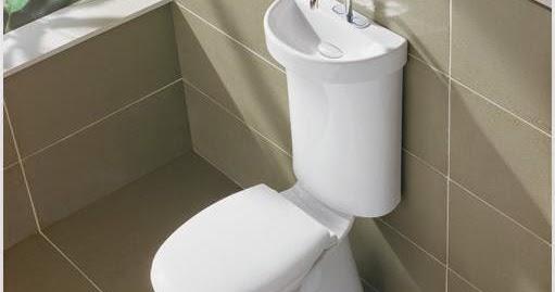 Des toilettes ing nieuses et conomes en eau elyotherm - Toilette avec lave main integre castorama ...