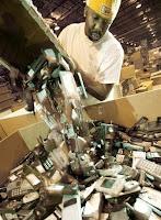 consigne usine de recyclage de telephones portables mobiles