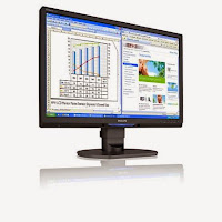 Philips brillance 22 lcd monitor 225B1C eco friendly