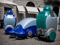 dustbot dustcart dustclean robot