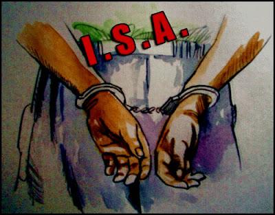 anwar ibrahim ditahan ISA