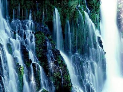 wallpaper waterfall. Waterfall Wallpaper 4 : 1024 x