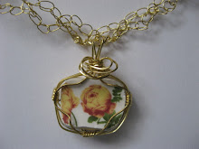 Marjorie's Cracked Plate Jewelry