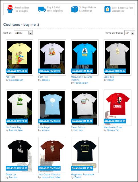 RekaTee online store