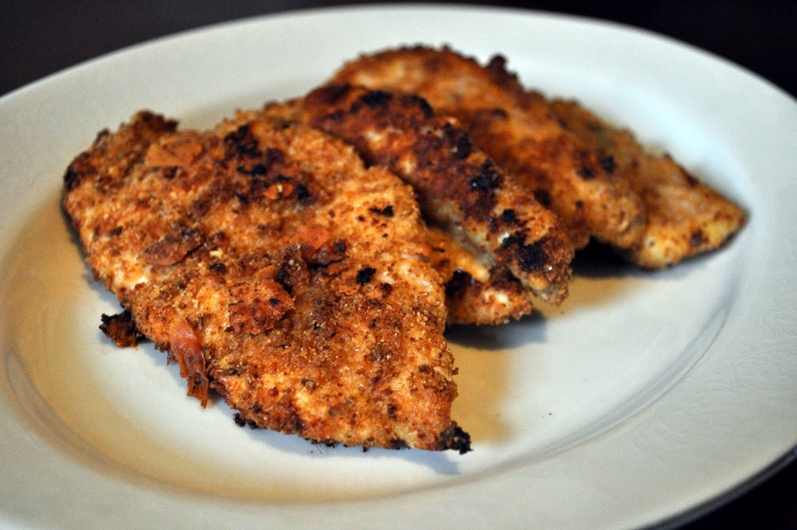 "Our Italian Kitchen: Oven Baked Italian ""Fried"" Chicken"
