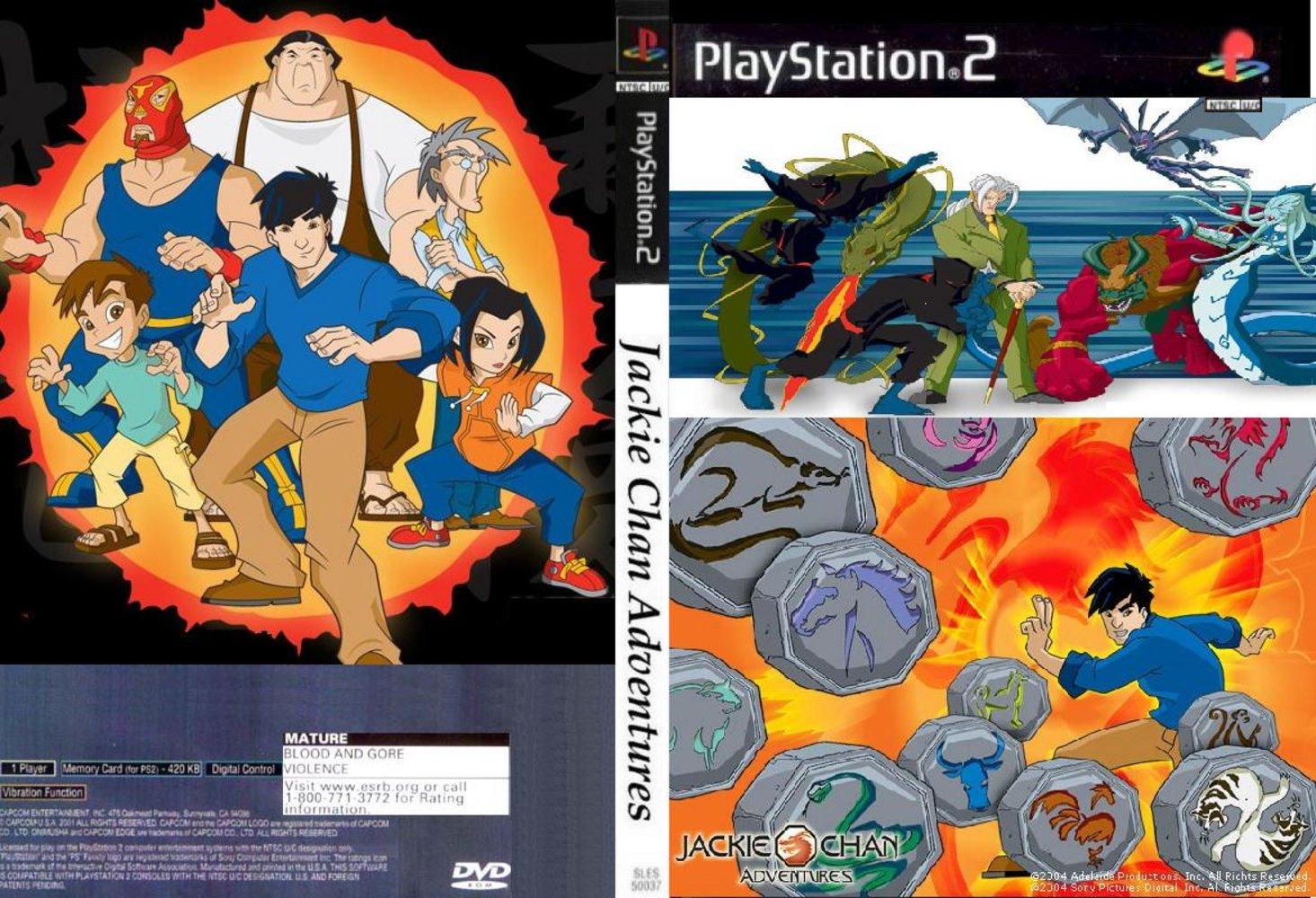 Jackie Chan Adventures Games