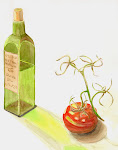 Olive Oil Watercolor