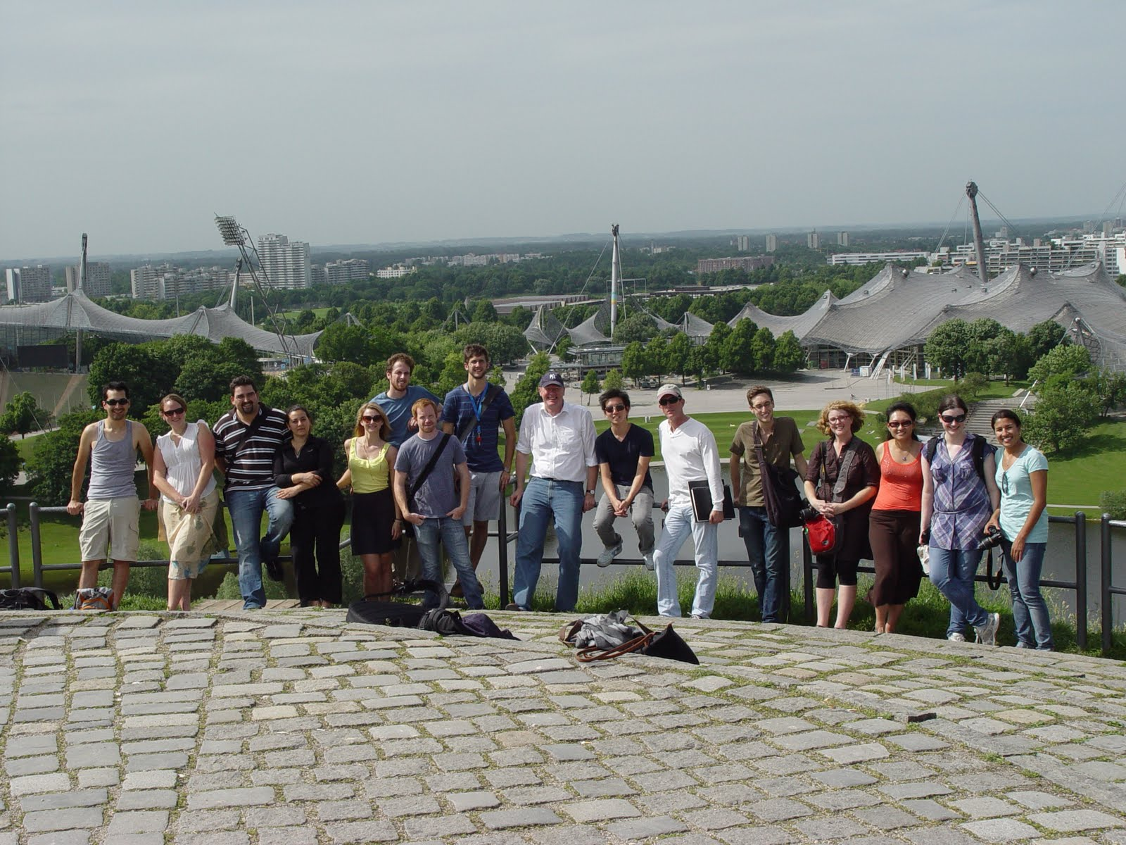 Group @ Olympiapark