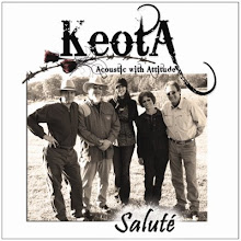 "Keota&#39;s CD ""Salut"""