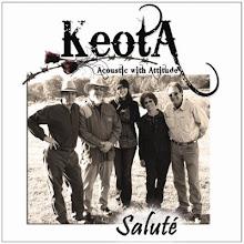 """Keota's CD """"Saluté"""""""