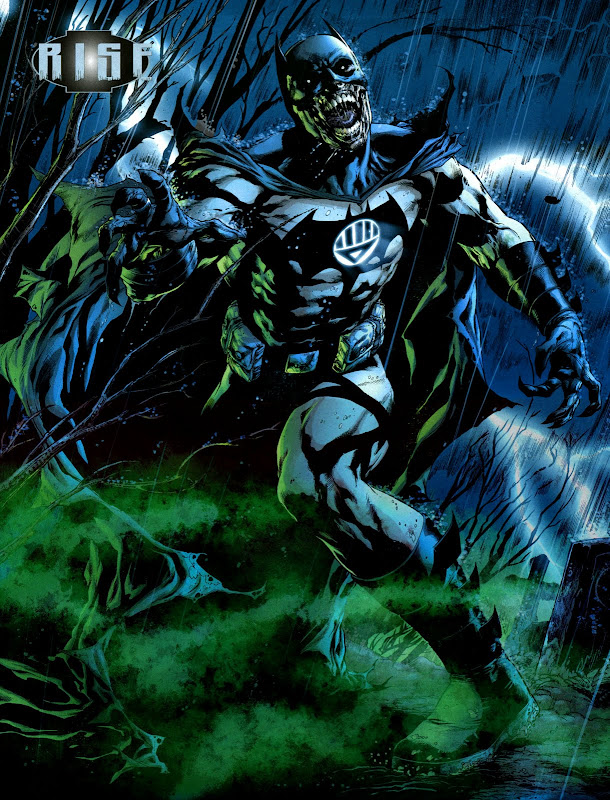 Moments of the Week: Black Lantern Batman, DIE and Omega Spawn title=